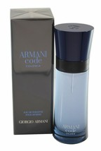 Armani CODE COLONIA - Men's Giorgio EDT 2.5 oz 75 ml Spray NEW - $66.98