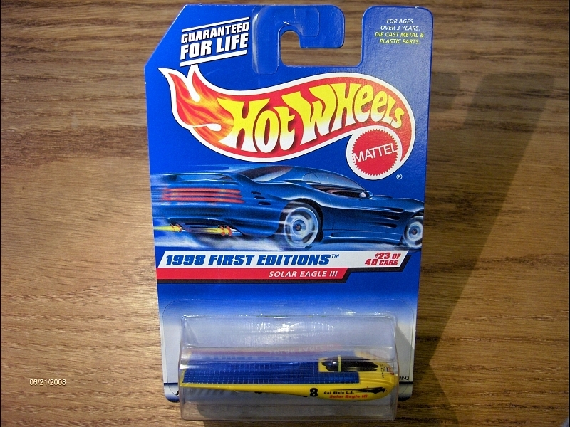 Hot Wheels Solar Eagle III #650