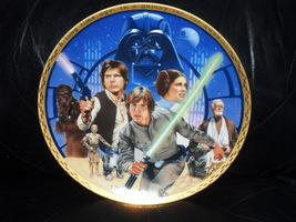 Star Wars 1988  10th Anniversary Commemorative Plate - $39.99