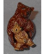 Ceramic Arts Studio Brown Bear Salt and Pepper Set - $25.00