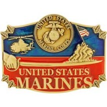 United States American USMC Action Belt Buckle - $16.03