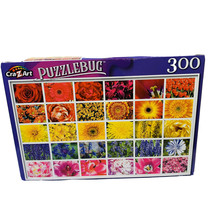 Colorful Flower Collage - Puzzle - 300 Pc. - New - $4.46