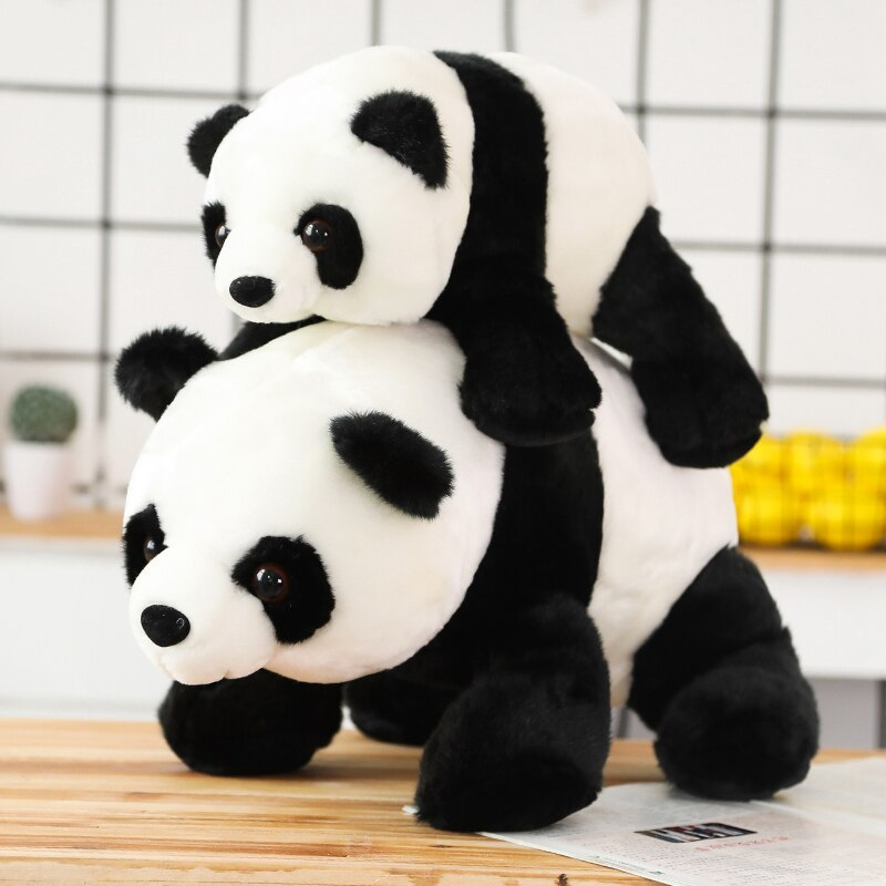Cute Baby Large Size Panda Bear Plush Stuffed Animal Doll Animals Toy Pillow Car