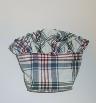 Longaberger Plaid Liner for Oregano Basket NEW Red Blue Green 213342 - $12.82