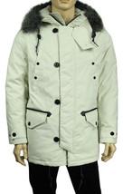 NEW NAUTICA PERFORMS WATER RESIST DOWN REMOVABLE FAUX FUR PARKA JACKET C... - $131.74