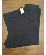 Women Knit Pants Tapered Generous Fit Pull On Pockets Plus Sz 2X (20W-22W) - $11.99