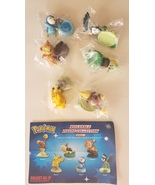 Pokemon Buildable Mini Figure series 3 Set of 6 - $41.99