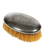 Vintage Silver Plate Clothes Brush - Monogram Oval Vanity Accessory - $18.70