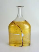 """Kosta Boda Bottle Bertil Vallien Vase Signed 12"""" Tall - $285.00"""