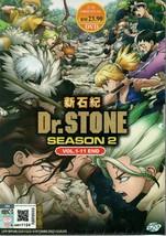 Dr. Stone - Season 2 (VOL.1 - 11 End) Anime DVD - English Dubbed Ship From USA