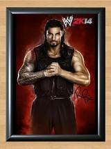 Roman Reigns Leati Anoaʻi WWE Signed Autographed A4 Print Photo Poster WWF UFC 2 - $9.95