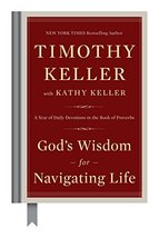 God's Wisdom for Navigating Life: A Year of Daily Devotions in the Book ... - $8.17