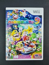 Nintendo Wii Mario Party 9 Complete With Case & Manual Tested  - $45.80