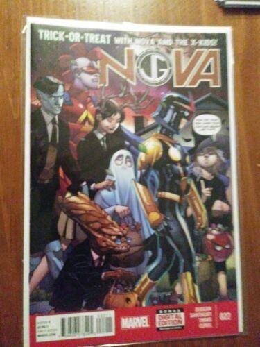 Nova Trick or Treat #022 with the X-Kids Marvel