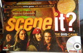Pirates of the Carribbean Dead Men Tell No Tales Scene It DVD Game 2007 Complete - $15.00