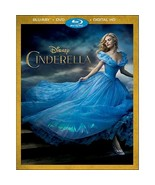 Disney Cinderella (Blu-ray + DVD + Digital, 2015) - $7.46