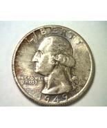 1949 WASHINGTON QUARTER GEM / SUPERB UNCIRCULATED GEM / SUPERB UNC. TONE... - $115.00