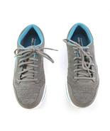 Skechers Go Walk Gray Blue Sneakers Walking Tennis Shoes Womens 11 SN 13651 - $29.52