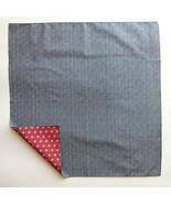 FUROSHIKI- Wrapping Cloth Reversible [Cotton] Komon x Flax ornament: Nav... - $17.18