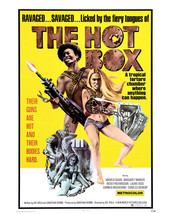 Margaret Markov and Andrea Cagan in The Hot Box Exploitation Artwork Girls Guns  - $69.99