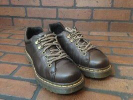 Dr Martens Air Wair Dark Brown Leather Size 8 - $46.82