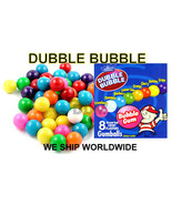 1500 Dubble Bubble bulk Food vending machine Mini Candy Gumballs - $29.99