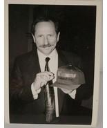 Dale Earnhardt Portrait Holding Darlington Hat Suit & Tie Photograph 5x7 - $23.34