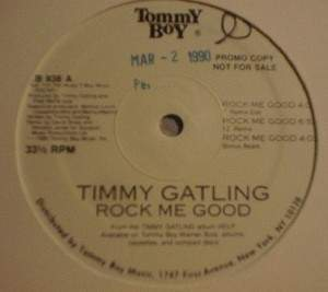 "Timmy Gatling - Rock Me Good - Tommy Boy Records TB 938 -12"" Single PROMO"