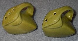 Figural Clothes Iron Salt and Pepper Shaker Set - $9.95