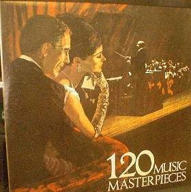 120 Music Masterpieces - Realm Records 2V 8019 - 2 LP's