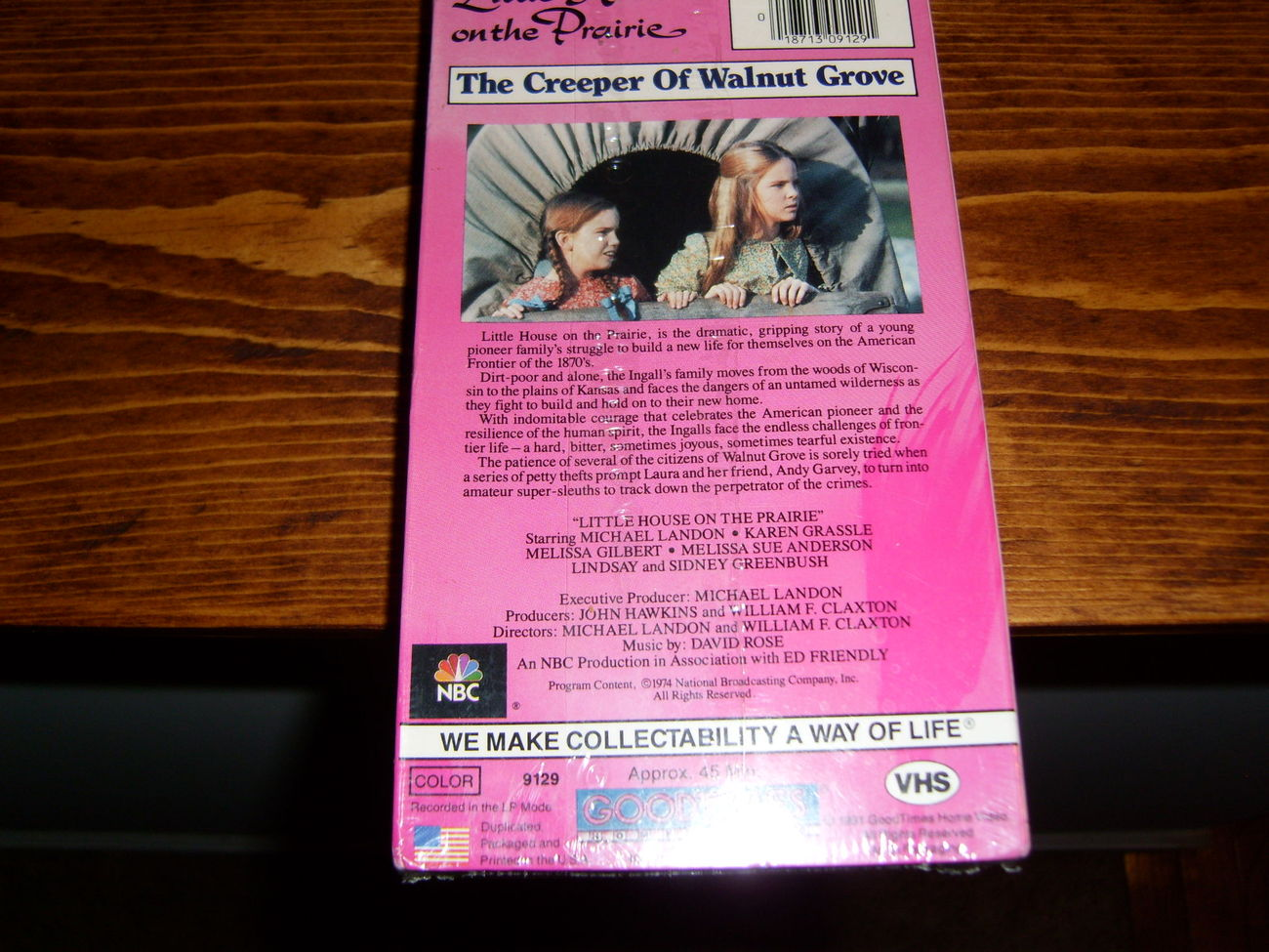 Little House on the Prarie: Creeper of Shadow Grove VHS NEW!