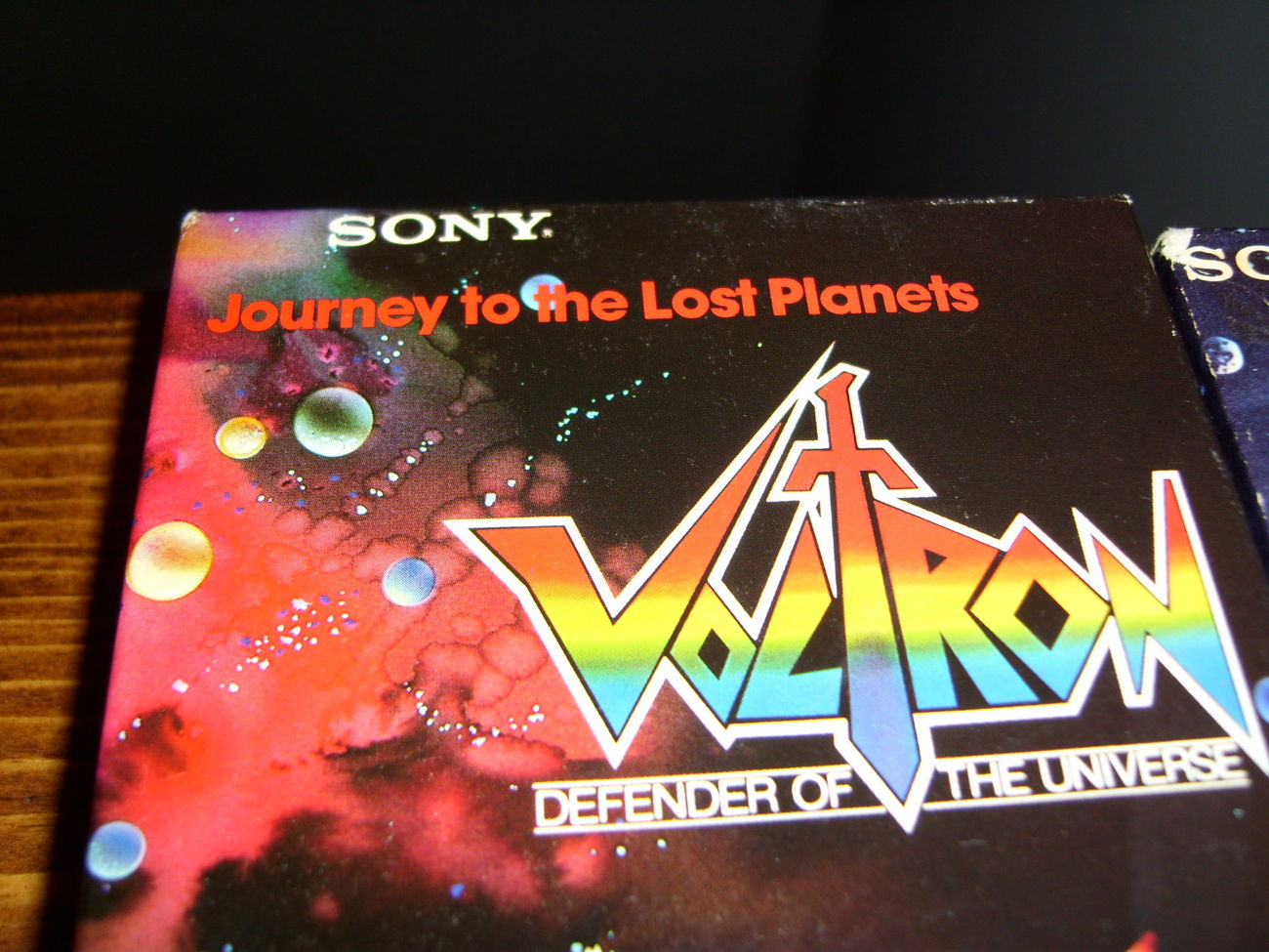 Voltron VHS lot of 2