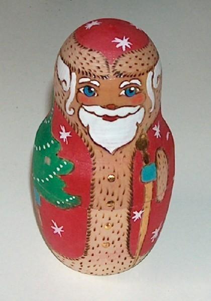 Nesting santa dolls set 2