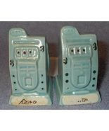 Figural Reno Slot Machine Salt and Pepper Shaker Set - $8.00