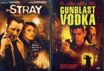 ANGIE EVERHART: Gunblast Vodka+Stray-M Madsen NEW 2 DVD