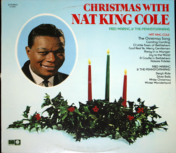 Nat king cole christmas cover