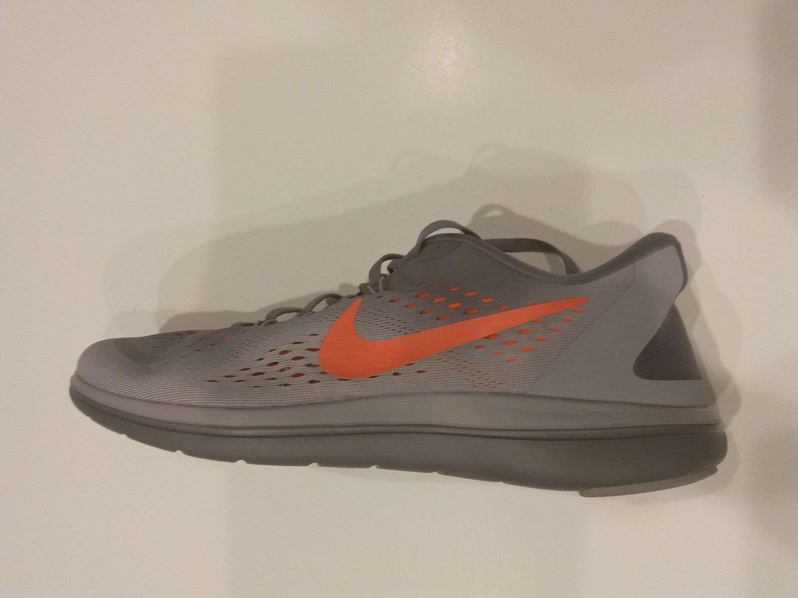 2762af94d3d67 Nike Flex 2017 RN 898457-014 Gunsmoke Grey Black Crimson Men s Running