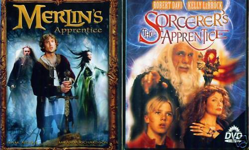 APPRENTICE: Merlin's & Sorcerer's/FamilyMagic NEW 2 DVD