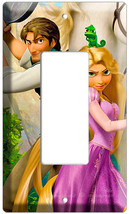 Rapunzel Flynn Rider Pascal Decora Gfi Tangled Movie Single Light Switch Plate - $9.99