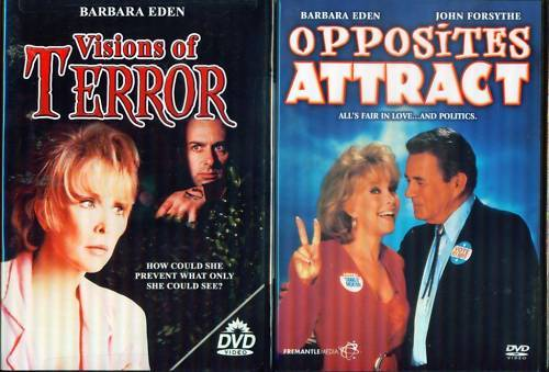 BARBARA EDEN: Visions Terror-Opposites Attract NEW 2DVD