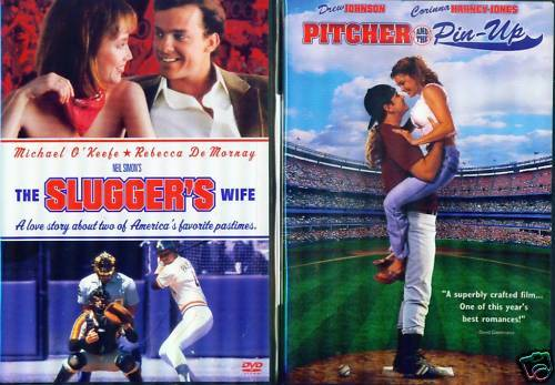 BASEBALL BABES Sluggers Wife/Pitcher Playmate NEW 2 DVD