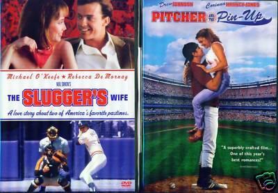BASEBALL BABES Sluggers Wife/Pitcher Playmate NEW 2 DVD