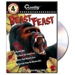 BEAST FEAST: Ape Man/Yucca Flats/Haunted Cave/Sea N DVD