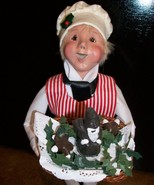 Byer's Choice Caroler, Chocolatier's Apprentice... - $68.00