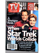 TV Guide Feb. 17-23 , 1996 - Star Trek When Worlds Collide  - $2.95