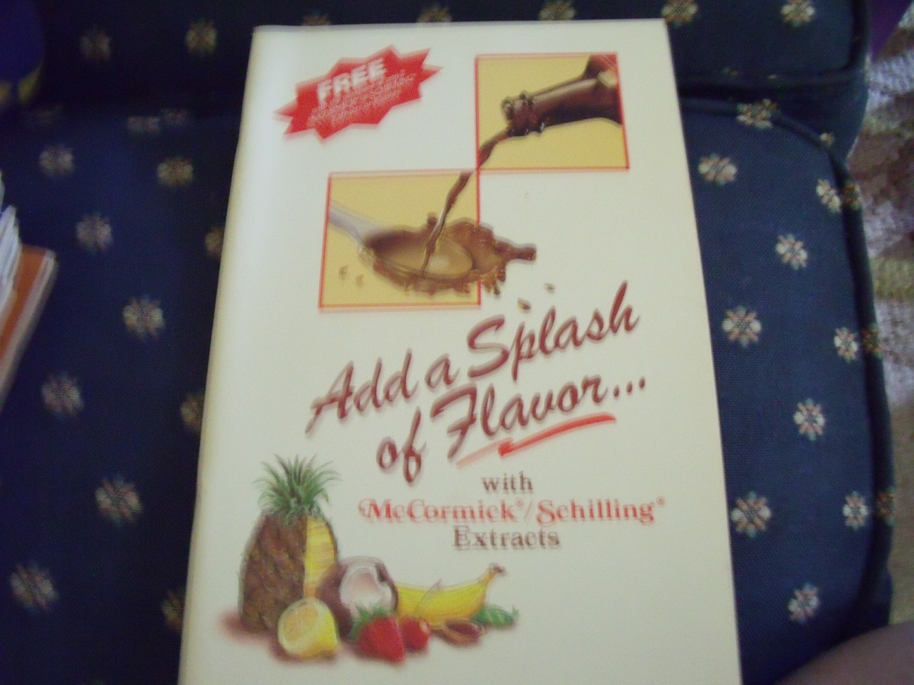 Add A Splash of Flavor With McCormick/Shilling Extracts circa 1989 - $6.00