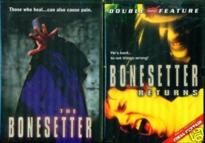 BONESETTER 1 & 2: Returns and Final Curtain - NEW 2 DVD