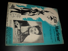 Sheet Music Lilli Marlene My Lilli Of The Lamplight Joan Brooks 1944 Mar... - $8.99