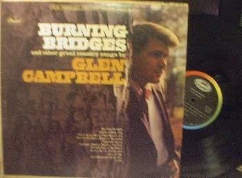 Glen Campbell - Burning Bridges - Capitol ST 2679