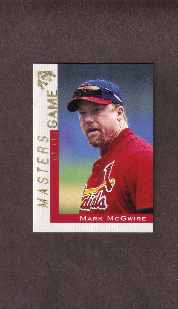 2000 Topps Gallery # 101 Mark McGwire St. Louis Cardinals